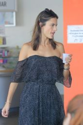 Alessandra Ambrosio - Out in West Hollywood 8/24/2016