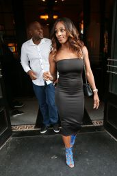 Alexandra Burke at Balthazar Restaurant London 8/28/2016