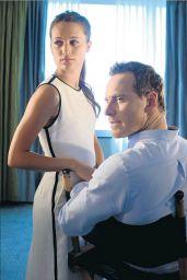 Alicia Vikander & Michael Fassbender - LA Times Magazine August 2016