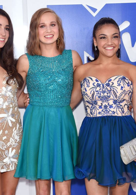 Aly Raisman, Madison Kocian, Laurie Hernandez, Simone Biles – MTV Video Music Awards 2016 in New York City 8/28/2016