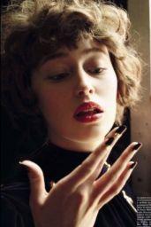 Alycia Debnam-Carey - Vogue Italia Beauty Magazine September 2016 Issue