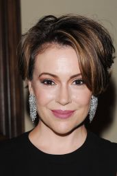 Alyssa Milano – BCBG Make-A-Wish Fashion Show in Los Angeles 8/24/2016