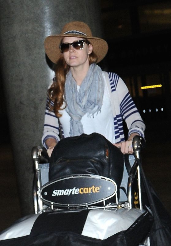 Amy Adams at LAX Airport 8/9/2016