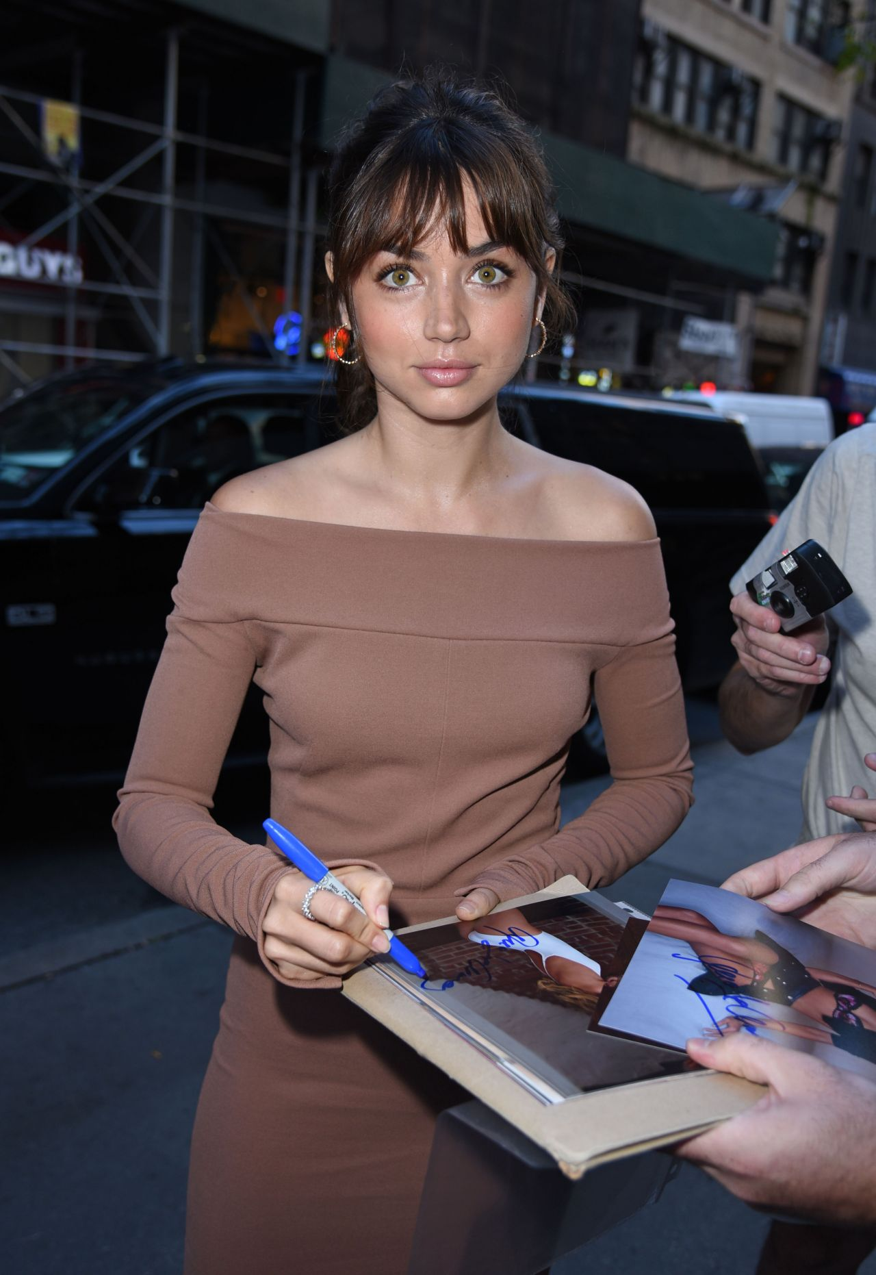Ana De Armas Outside Today Show In New York City 8 21