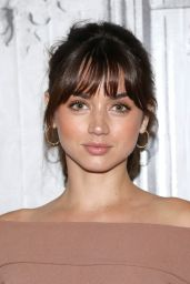 Ana de Armas Visited AOL Build in NY 8/22/2016