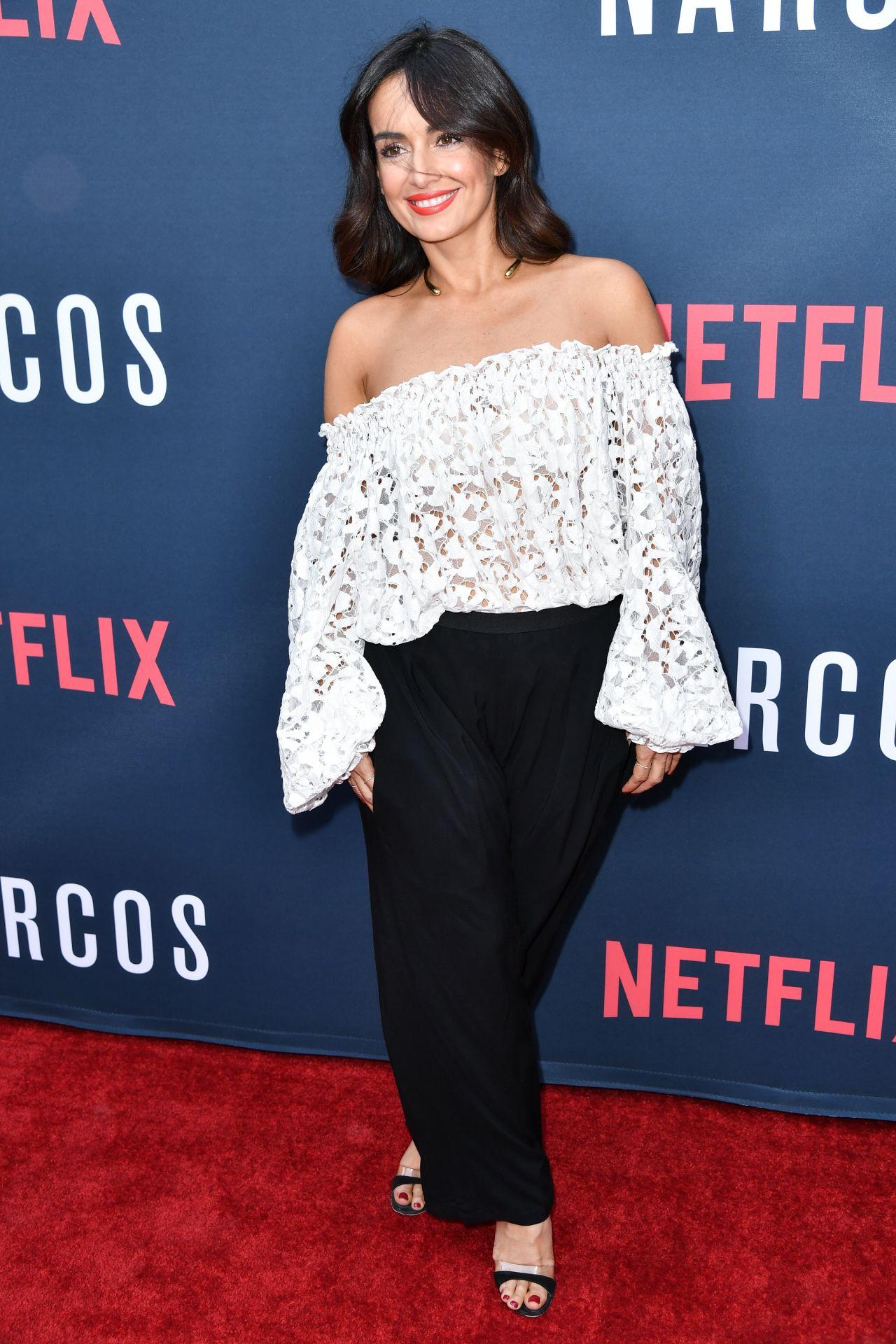 Ana de la Reguera - Netflix's 'Narcos' Season 2 Premiere ...