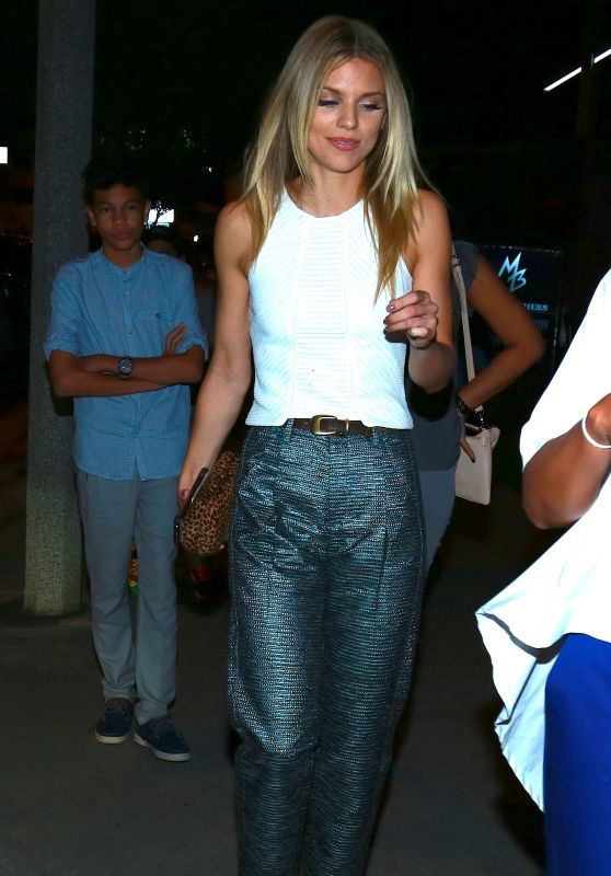 AnnaLynne McCord at Boa Steakhouse in West Hollywood 8/11/2016