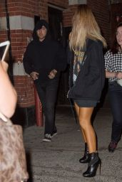 Ariana Grande - Leaving a Night Club in New York City 8/26/2016