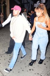 Ariana Grande - Leaving The Republic Records VMA After Party in New York city 8/28/2016