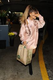 Ariana Grande - Shopping at Whole Foods in Beverly Hills 8/2/2016