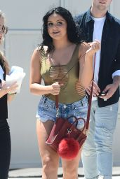 Ariel Winter in Jeans Shorts - Out in Beverly Hills 8/13/2016