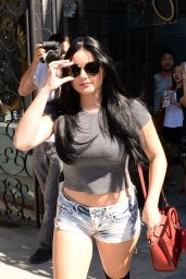 Ariel Winter in Jeans Shorts - West Hollywood 8/11/2016