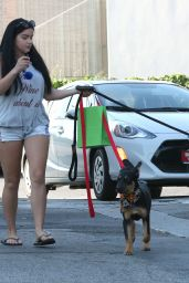 Ariel Winter Leggy in Shorts - West Hollywood 8/29/2016