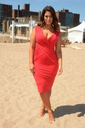 Ashley Graham - Sports Illustrated Summer of Swim Fan Festival in Coney Island 8/28/2016