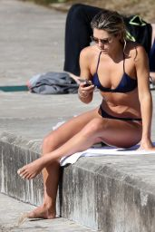 Ashley Hart Bikini Photos - Bondi Beach in Sydney 8/15/2016