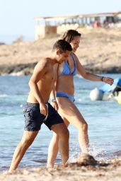 Aurora Ramazotti in Bikini - Enjoys a Holiday in Formentera 8/2/2016