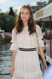 Barbara Palvin - Arriving for the Venice Film Festival in Venice, Italy 8/30/2016
