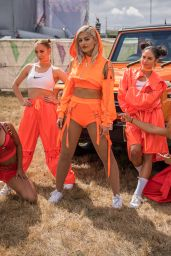 Bebe Rexha Perfoms at V Festival at Hylands Park in Chelmsford, England 8/21/2016