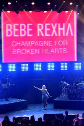 Bebe Rexha Performs at a MTV Pre VMA Concert in New York 8/27/2016