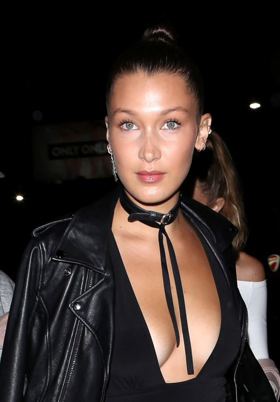 Bella Hadid Night Out Style - Nice Guy in West Hollywood 8/23/2016