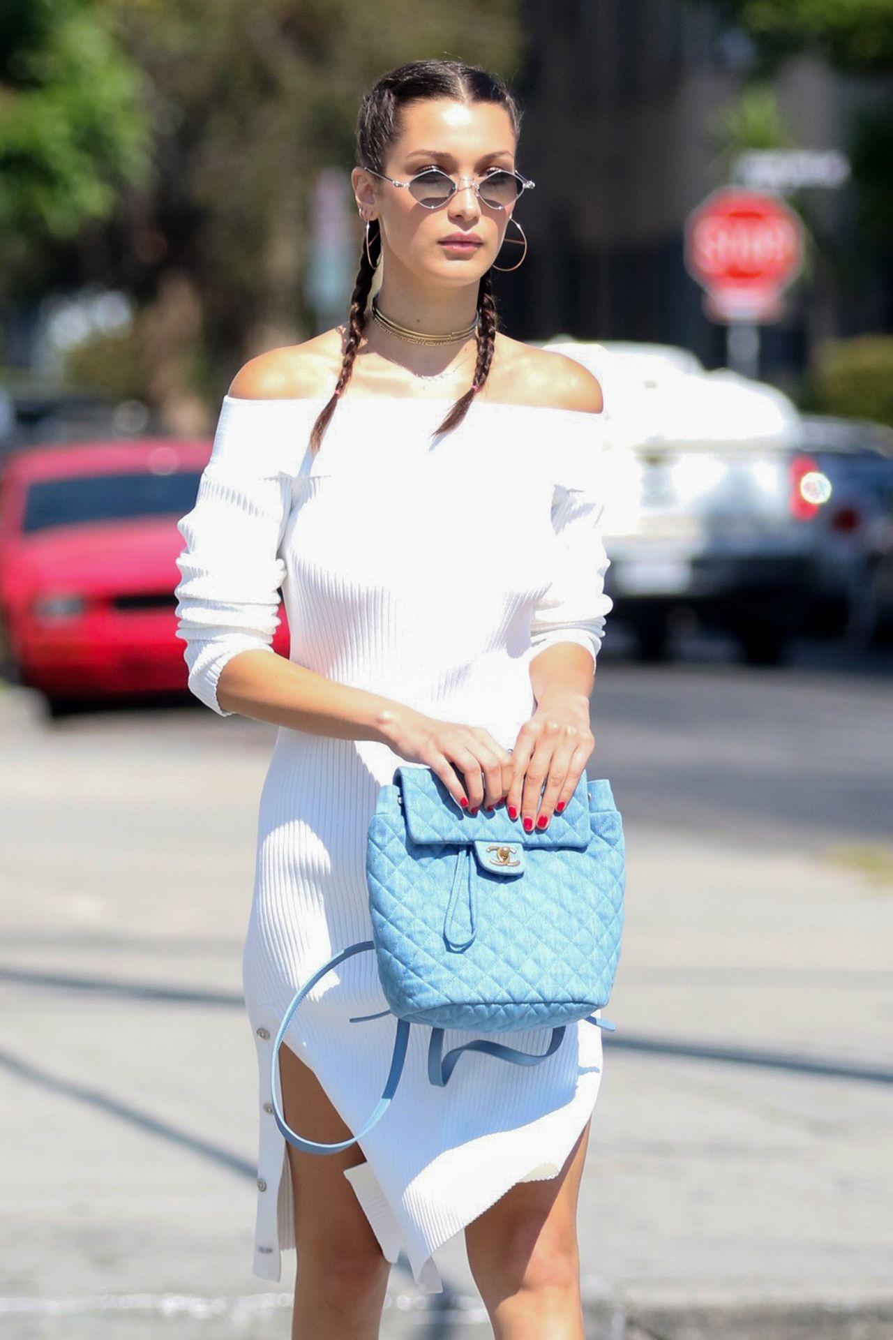 Bella Hadid Summer Street Style Los Angeles Ca 08 03 2018