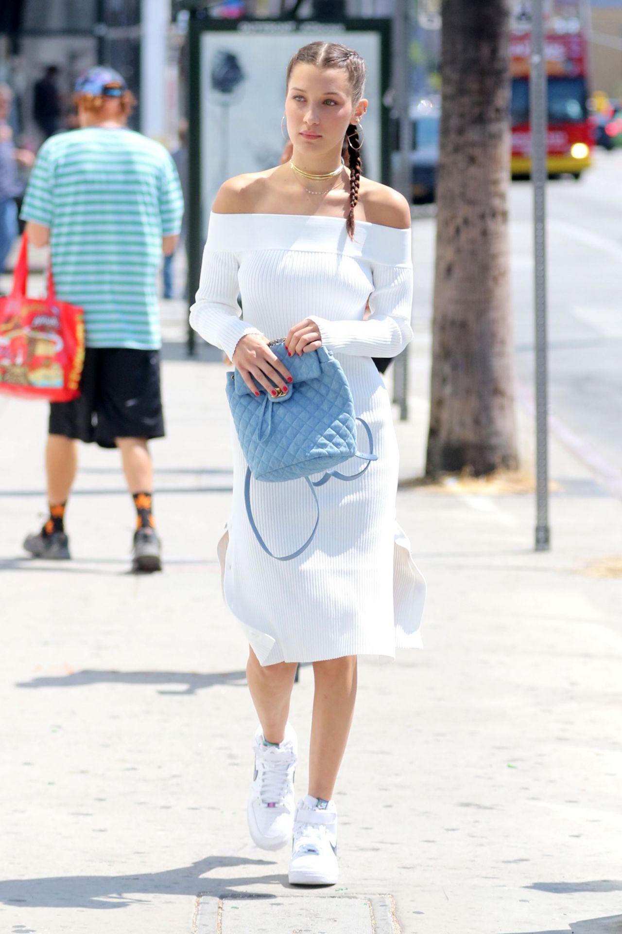 Bella Hadid Summer Street Style
