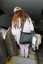 Bella Thorne Travel Outfit - at LAX 8/10/2016