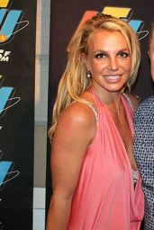 Britney Spears at KTU 103.5 FM Studios in NYC 8/26/2016