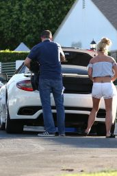 Britney Spears - Out in Los Angeles, August 2016