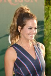 Brooke Burke – 'Pete's Dragon' Premiere in Hollywood 8/8/2016