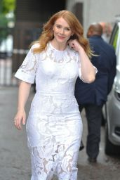 Bryce Dallas Howard at ITV Studios in London 8/2/2016