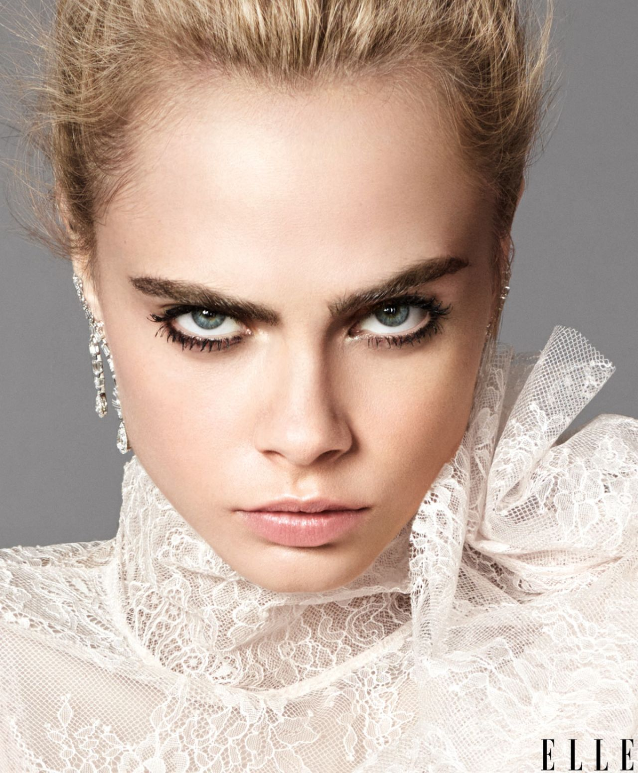 Cara Delevingne - Elle US September 2016 Cover and Photos