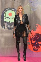 Cara Delevingne – 'Suicide Squad' Premiere at Odeon Leicester Square in London 8/3/2016