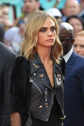 Cara Delevingne – 'Suicide Squad' Premiere at Odeon Leicester Square in London 8/3/2016