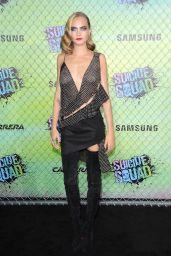 Cara Delevingne – 'Suicide Squad' Premiere in NYC 8/1/2016