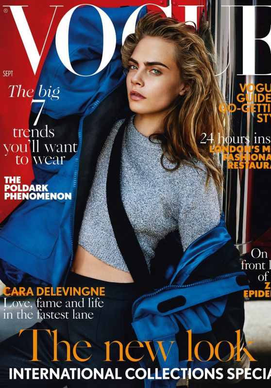 Cara Delevingne - Vogue Magazine UK September 2016 Cover