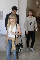 Carlson Young at Bloody Weekend Convention in São Paulo with Daniel Sharman 8/27/2016