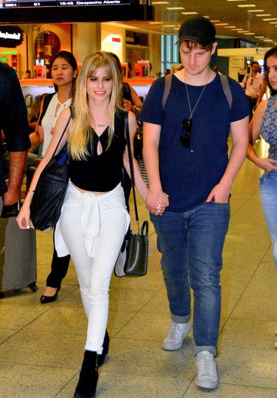 Carlson Young - Galeao International Airport in Rio de Janeiro, Brazil 8/30/2016
