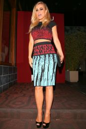 Carmen Electra Night Out Style - Sushi Roka in West Hollywood 8/11/2016