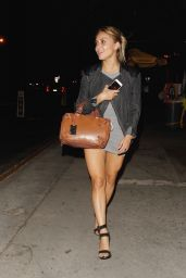 Cassie Scerbo at Bootsy Bellows in West Hollywood 8/12/2016