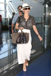 Catherine Zeta Jones - JFK Airport in New York  8/29/2016
