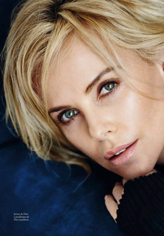 Charlize Theron - Elle Magazine Spain September 2016 Issue