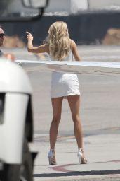 Charlotte McKinney at Van Nuys Airport, CA 8/6/2016