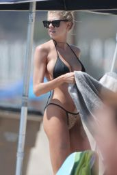 Charlotte McKinney Hot in Bikini - Santa Monica Beach 8/13/2016