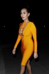 Chloe Goodman Night Out Style - London 8/28/2016