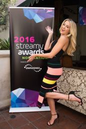 Chloe Lukasiak - Streamy Awards Nominations Announcement Event in Santa Monica 8/24/2016