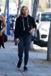Chloe Moretz at a Pilates Class in West Hollywood 8/19/2016