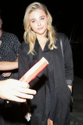 Chloe Moretz at the Coldplay Concert in Pasadena 8/20/2016