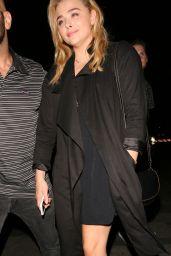 Chloe Moretz at the Coldplay Concert in Pasadena 8/20/2016