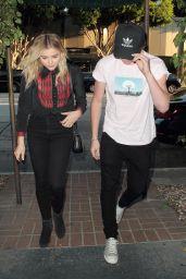 Chloe Moretz Style - Madeo Restaurant in Hollywood 8/3/2016